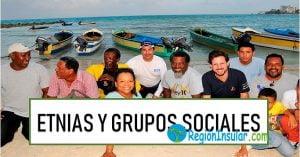 Grupos sociales y étnicos de la Región Insular