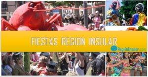 Fiestas mas populares de la Región Insular