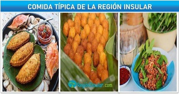 platos tipicos de la region insular