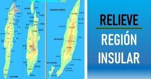 relieve de la region insular de colombia