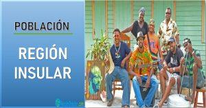 Caracteristicas poblacionales de la Region Insular