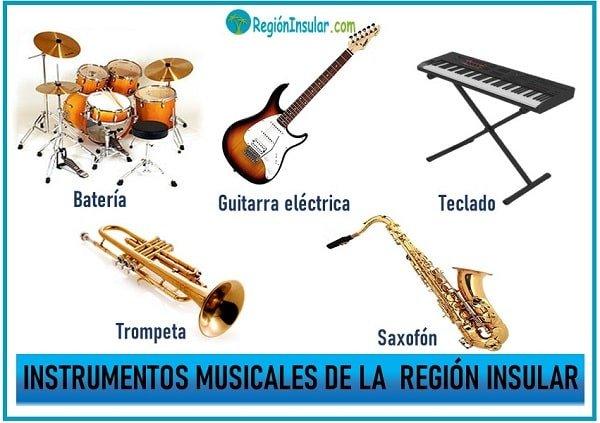 instrumentos de la region insular de colombia