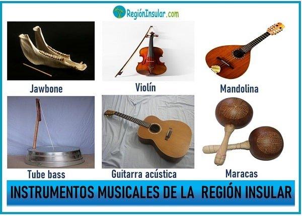 instrumentos tipicos de la region insular