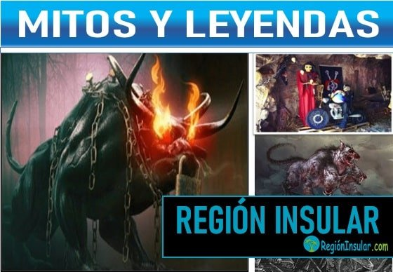 Mitos y leyendas de la region nsular de Colombia.