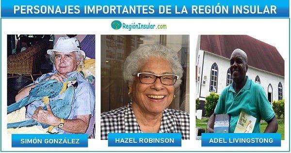 personajes importantes de la region insular