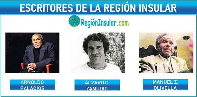 Escritores de la region Insular de Colombia