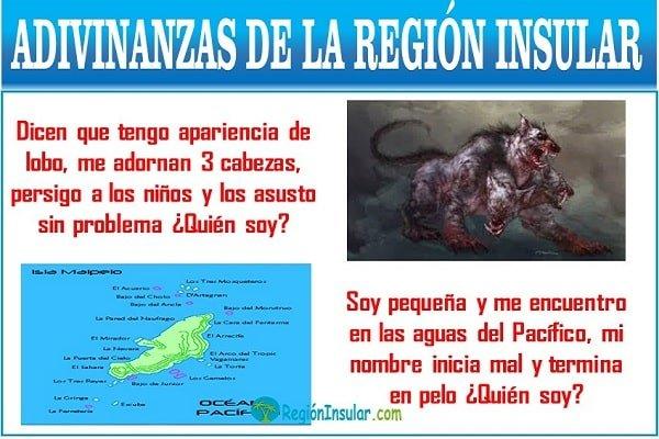 adivinanzas de la region insular