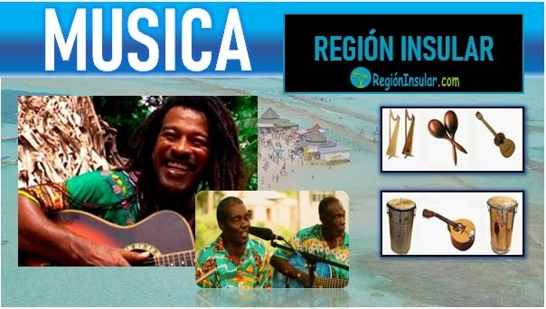 Musica de la region Insular colombiana