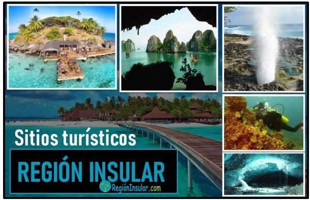 Sitios turisticos de la region insular de Colombia